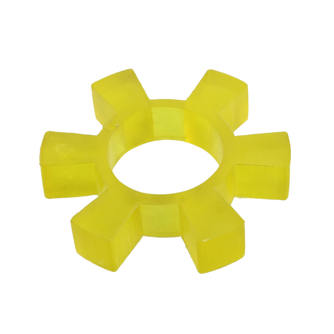 95mm x 17mm Flexible Yellow Polyurethan PU Coupler Dampler Buffer 42mm Bore