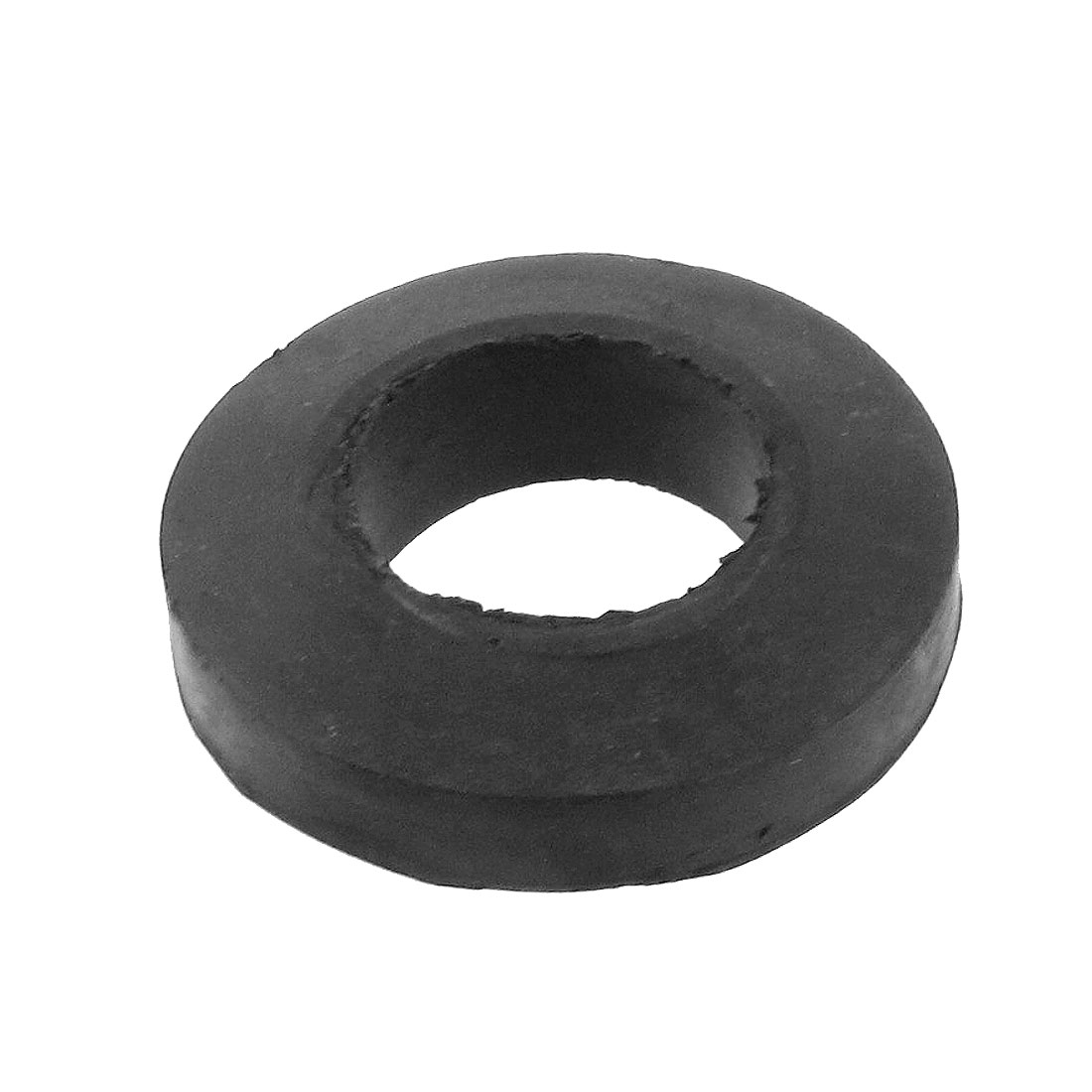 Black Flexible Rubber Shock Absorber Coupling Bush Cushion 30mm x 45mm x 14mm