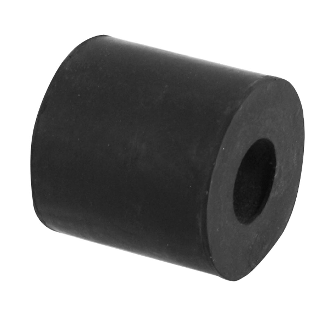 Cylinder Shaped Black Cushion Rubber Bush 14mm x 28mm x 29mm