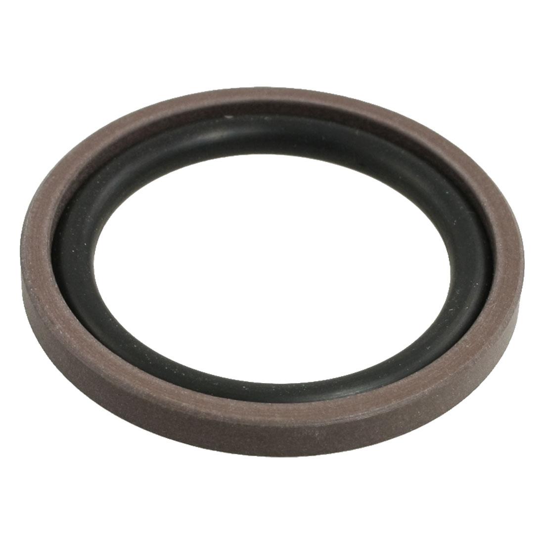 Metric 63mm x 47.5mm x 6.3mm NBR PTFE Glyd Ring Piston Shaft Seal
