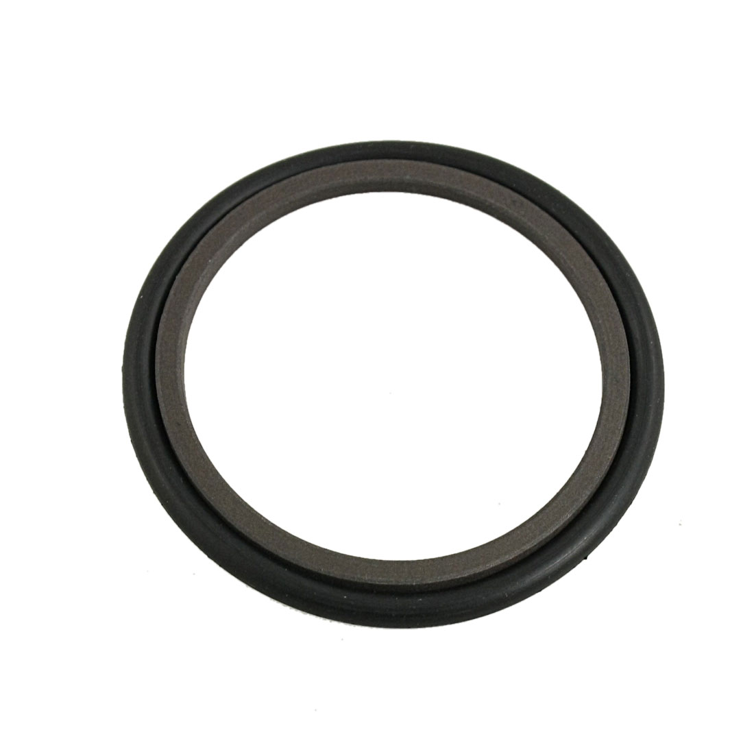 Black Brown 42mm x 53mm x 3.3mm NBR PTFE Rod Step Seal Ring