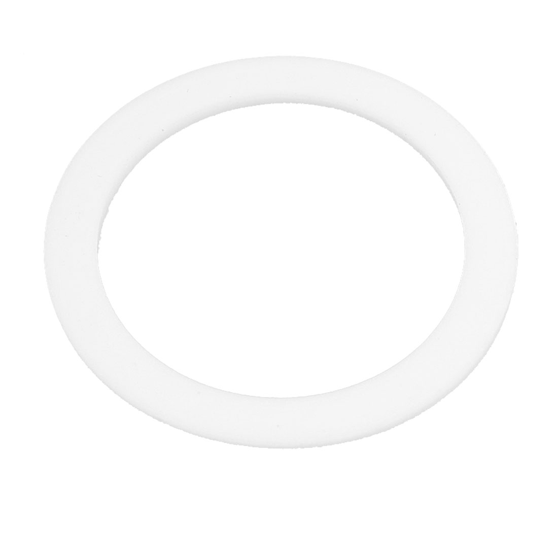35mm x 45mm x 2mm Flat PTFE Gasket Washer White