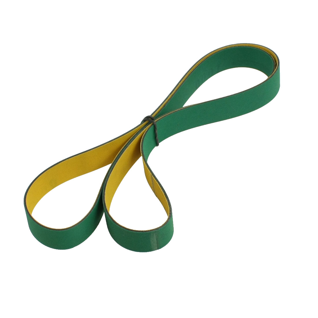 1000mm x 20mm x 2mm Green Yellow Nylon Film Base Conveyor Drive Belt