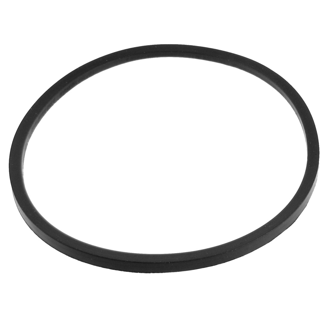 120mm x 110mm x 5mm Black Rubber Seal Ring Gasket for Sealing Machine
