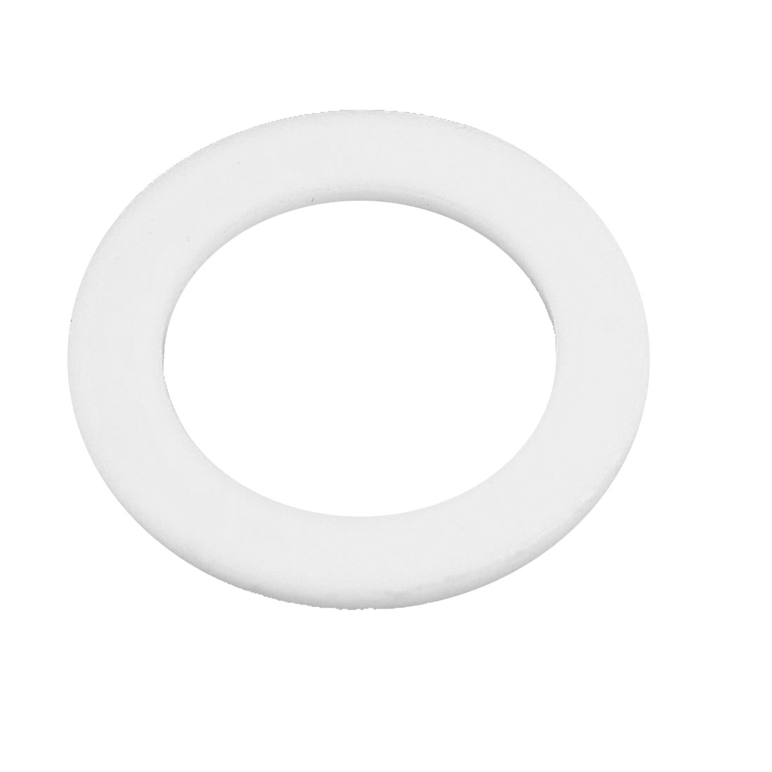 20mm x 30mm x 2mm Sealing Flat PTFE Gasket Washer White