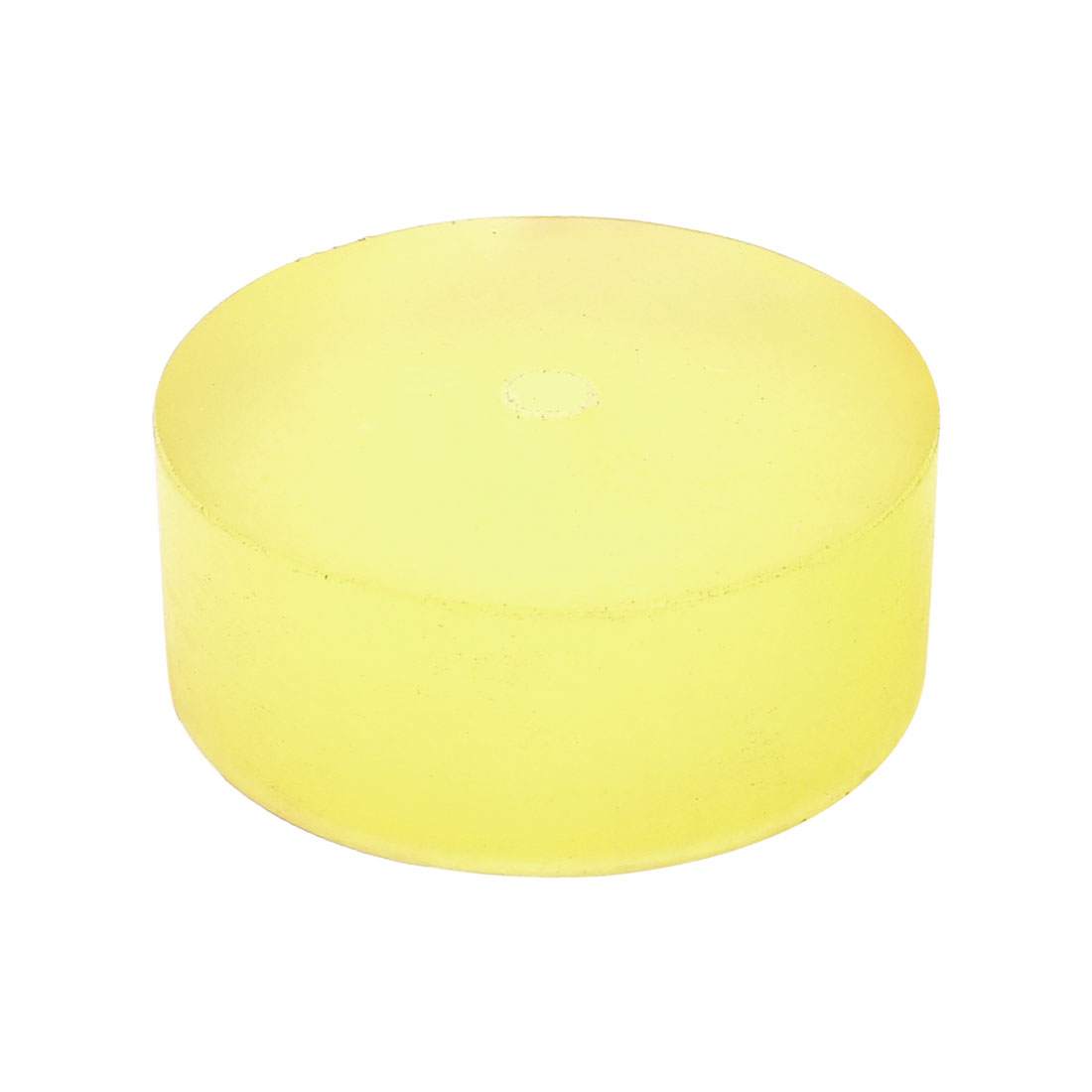 79mm x 30mm Shock Absorber Polyurethane PU Pad Sheet Clear Yellow