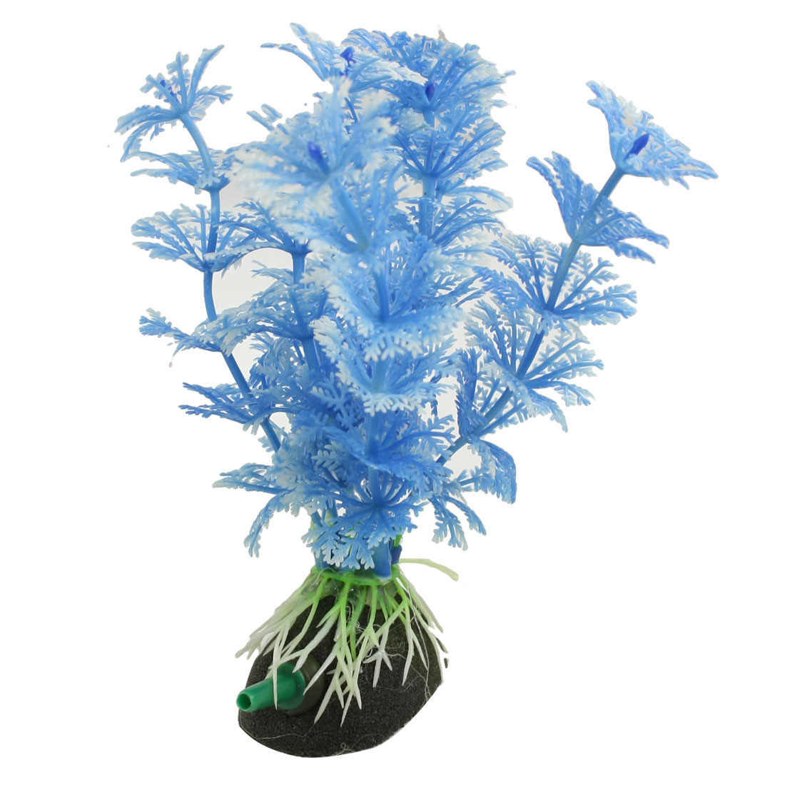 Underwater Blue Plastic Plants Ornament for Aquarium Fish Tank
