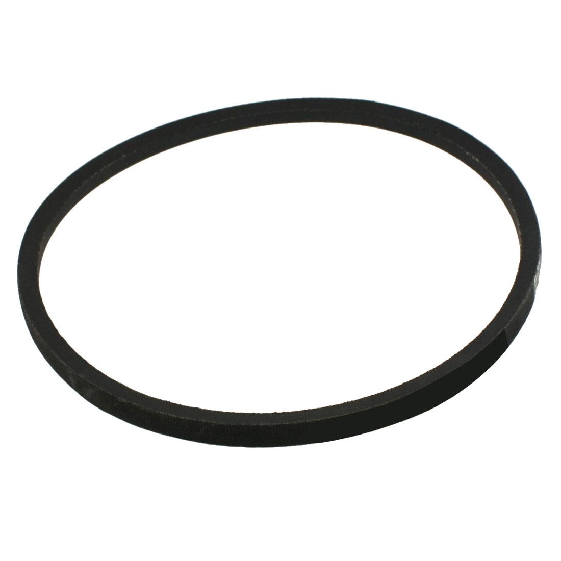 "Machinery Drive Band Black Rubber Belts B Type Vee Belt 16mm x 35"""