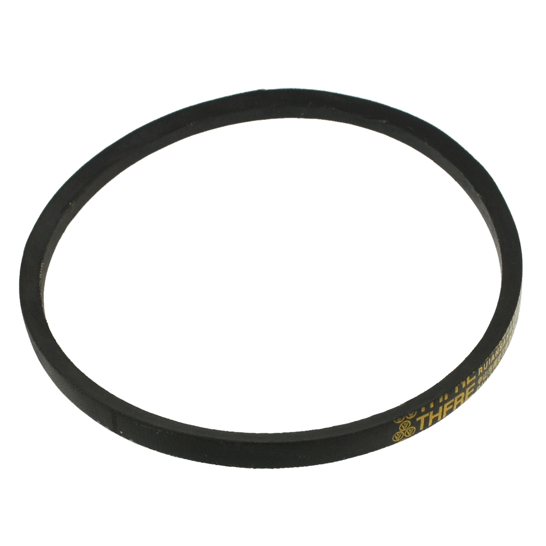 "25/64"" x 18"" Black Rubber Rope M Type V Belt for Machine Transmission"