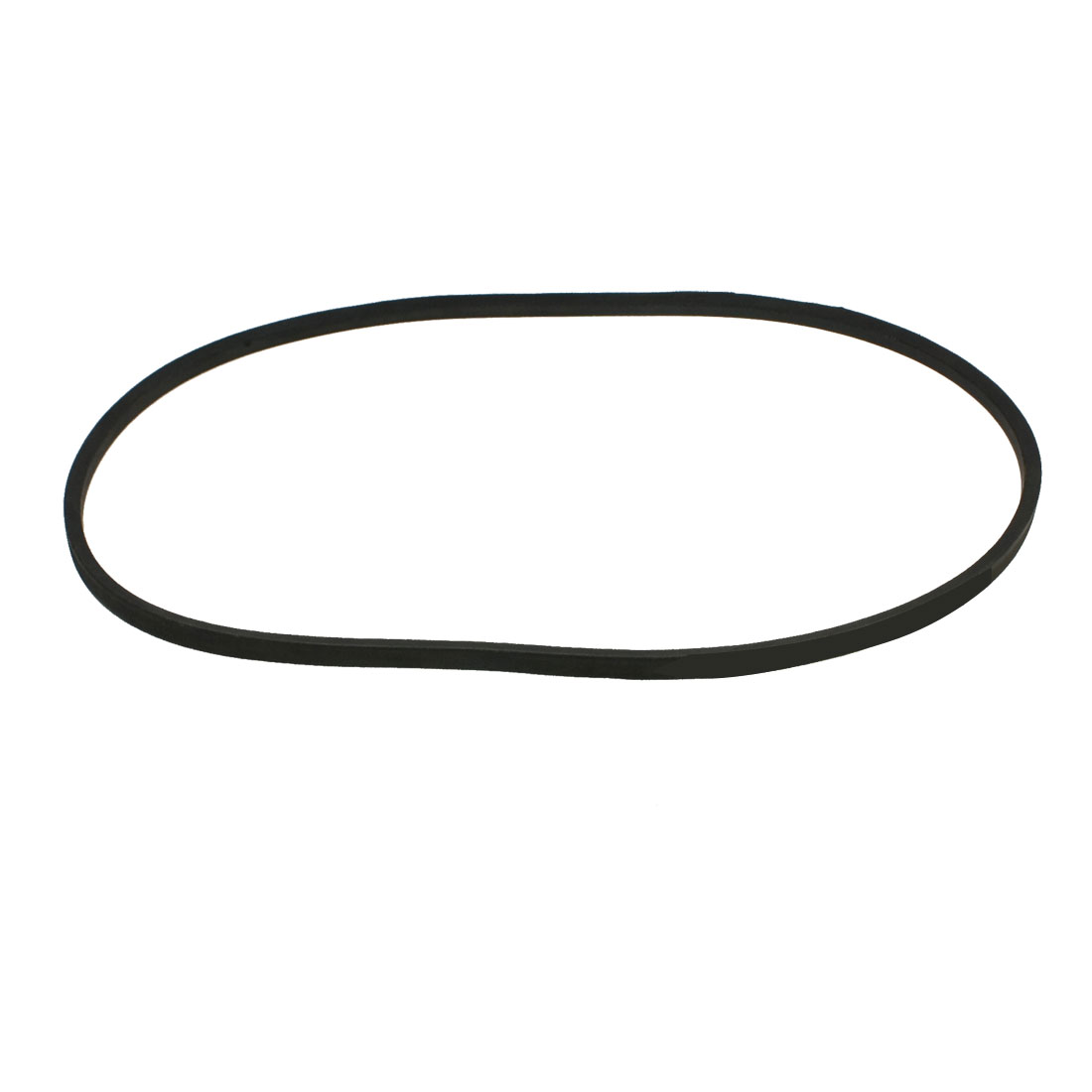 "Industry Lawn Mower Band Black Rubber O Type Vee V Belt 3/8"" x 33 1/2"""