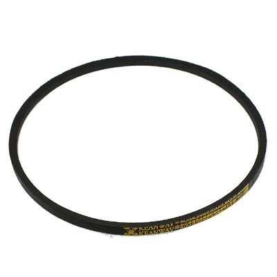 """Black Outer Girth 34"""" Rubber M Type Wedge Rope Vee Belt"""