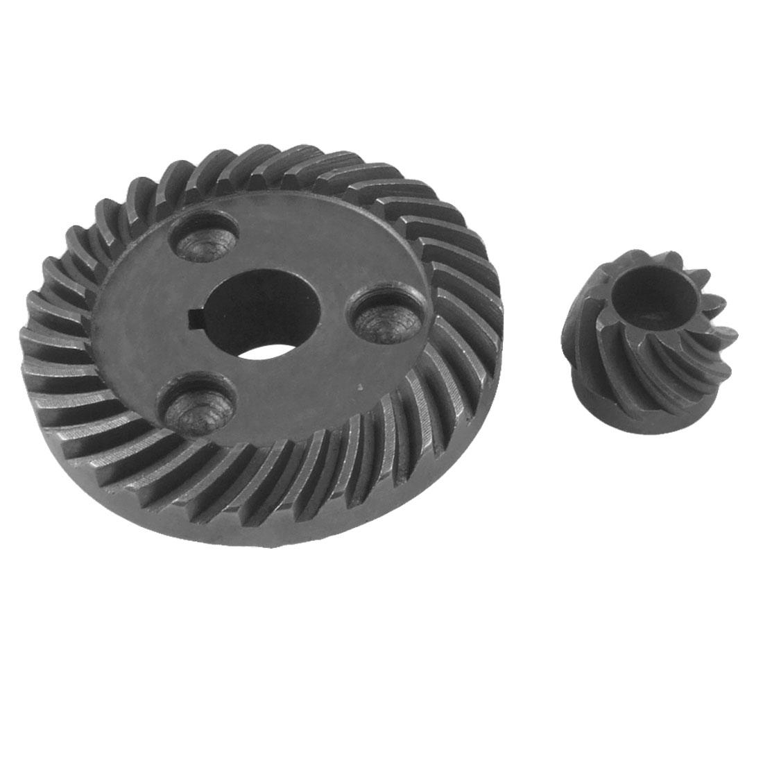 Replacement Part Metal Spiral Bevel Gear 2 Pcs Set