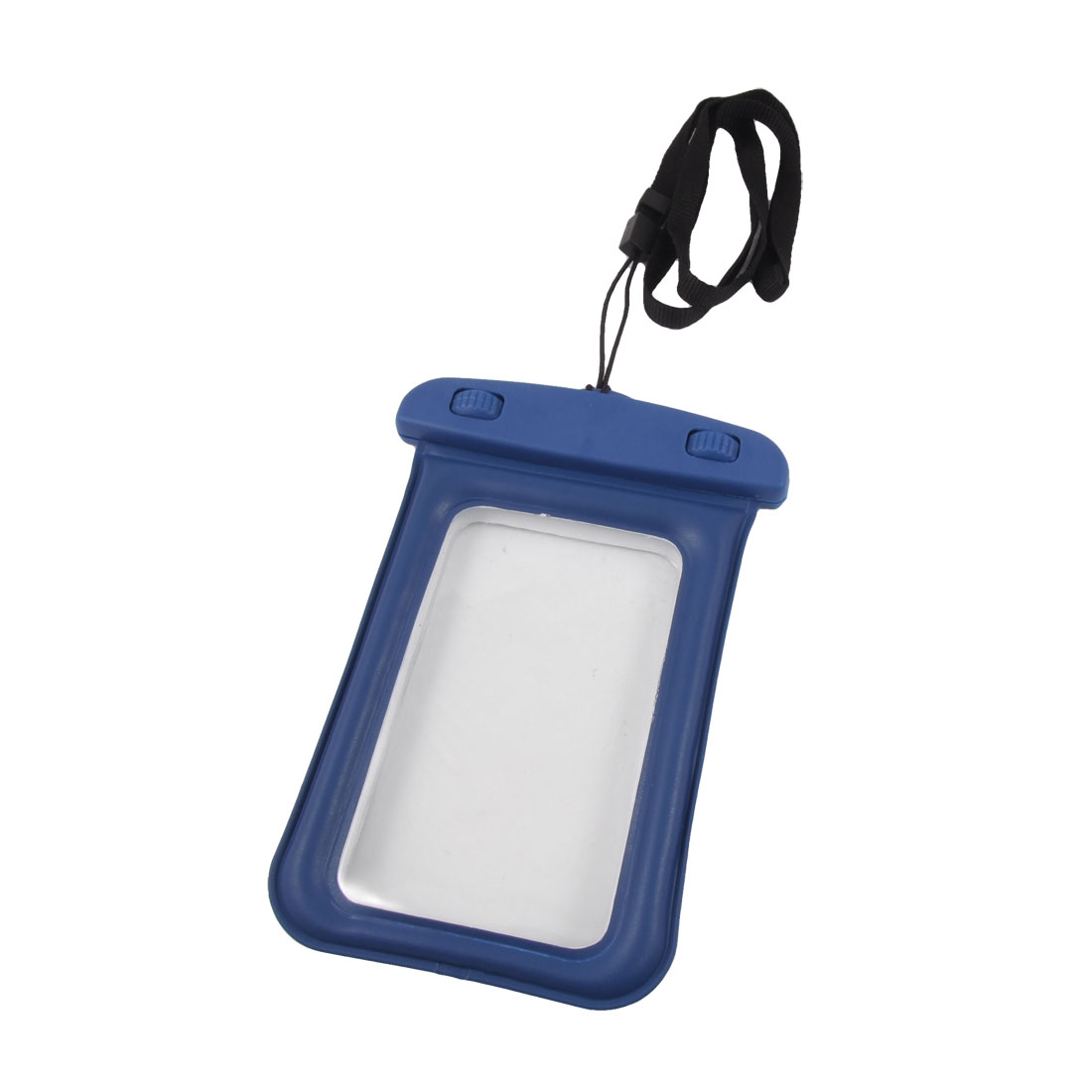 Cell Phone Water Resistant Bag Pouch Blue for iPhone 4 4G 3G