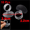 10 Pcs Aquarium Fishbowl Fish Tank Clear Airline Tube Suction Cup Holders