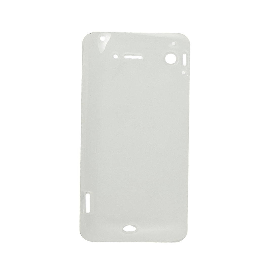 Clear White Flexible Case Cover for HTC Sensation XE G18 G14