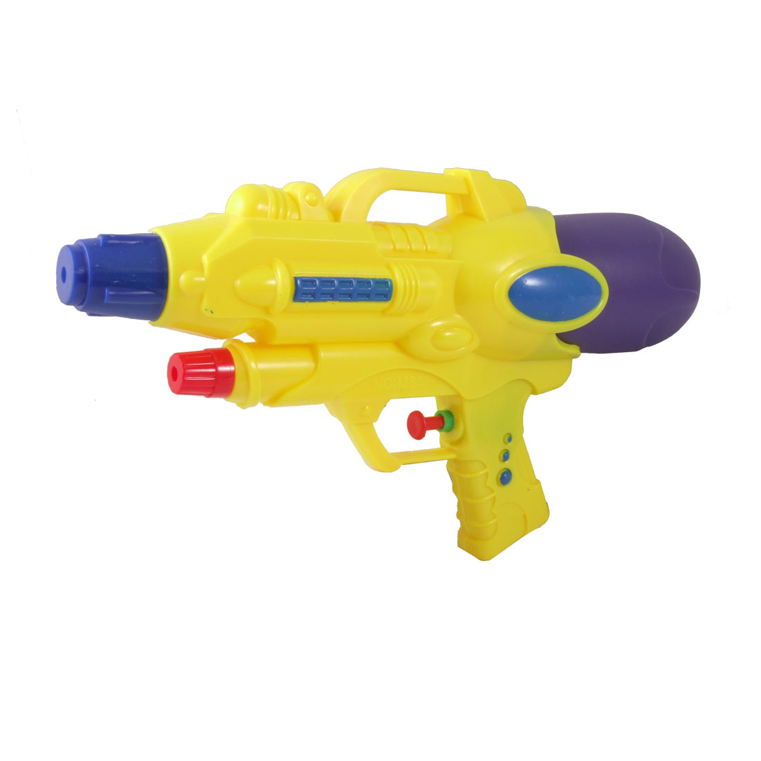 Yellow Purple Trigger Rocket Water Gun Squirt Gun Toy for Children