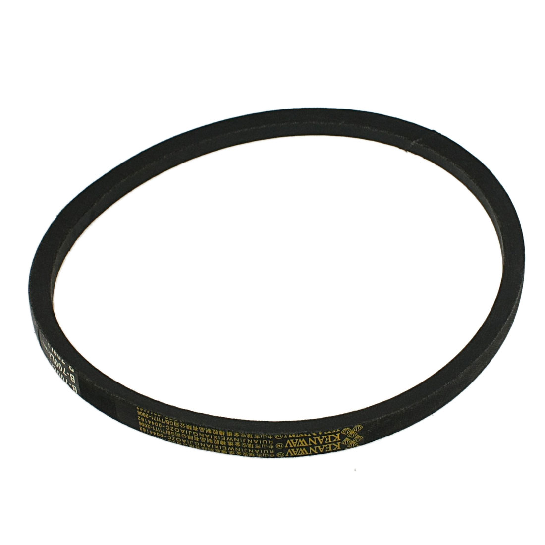 16mm x 700mm B Type Black Rubber Machinery Drive Band V Belt
