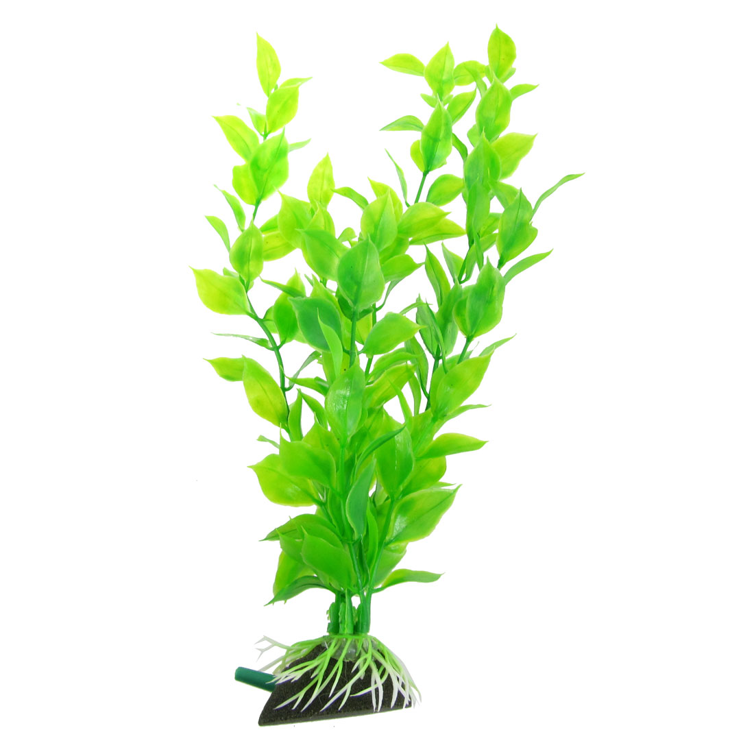 "11"" Underwater Aquascaping Green Plant Air Stone for Tank Aquarium"