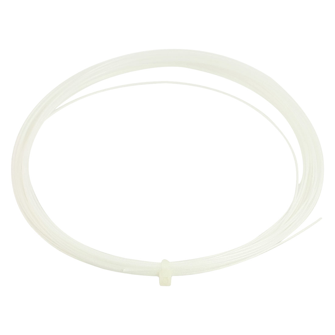 0.75mm Gauge Sports White Badminton Racket Racquet String 10M