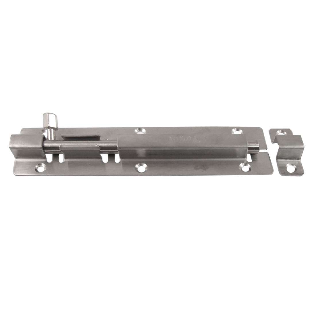 "6.5"" Safeguard Door Latch Sliding Locked Metal Barrel Bolt"