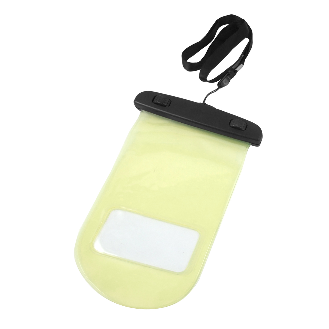 Water Resistant Yellow Plastic Protective Case Pouch for Apple iPod Touch iPhone 4 4G 3GS 3S