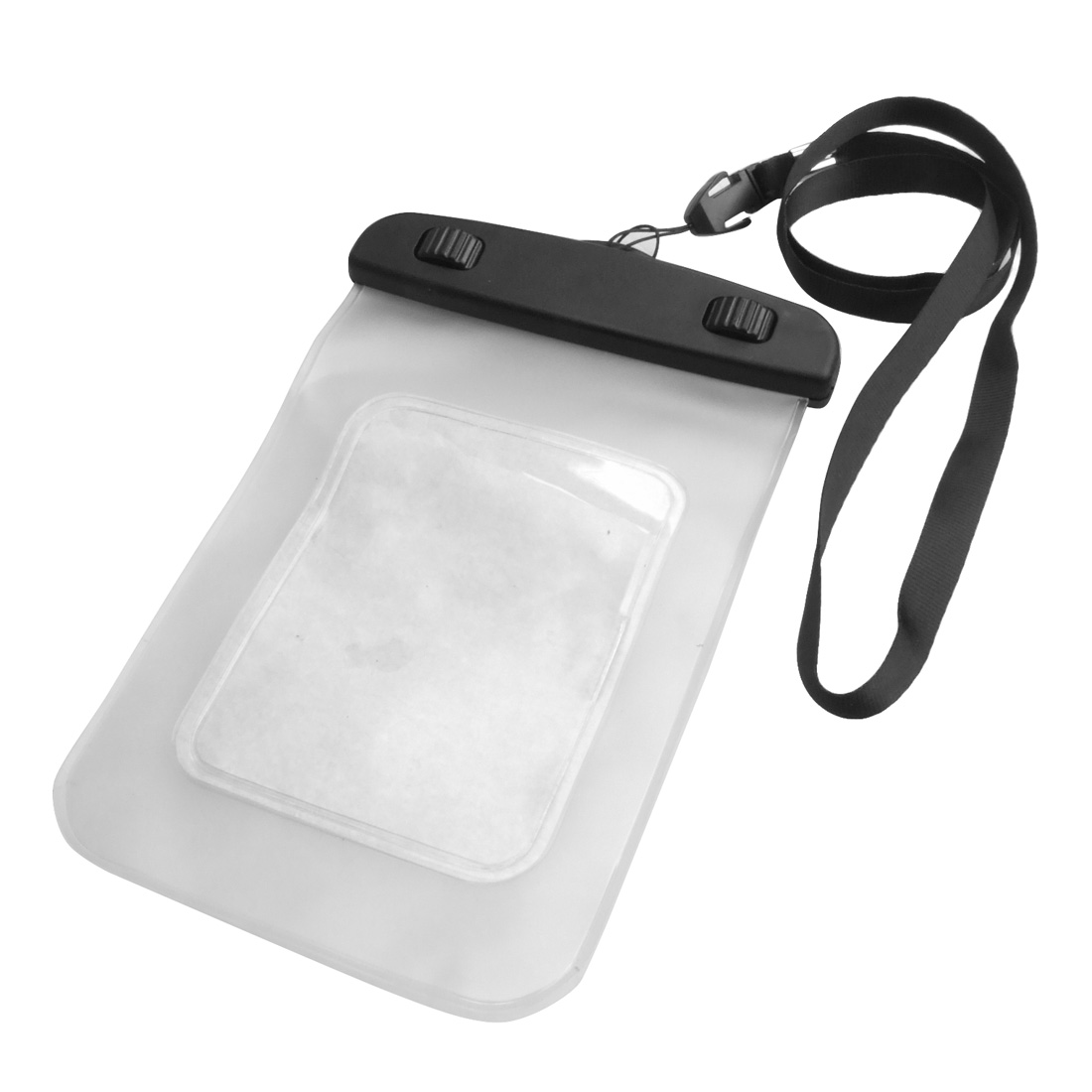Plastic Clear Water Resisitant Pouch Cover Case w Neck Strap for iPhone 3G 3GS 4 4G