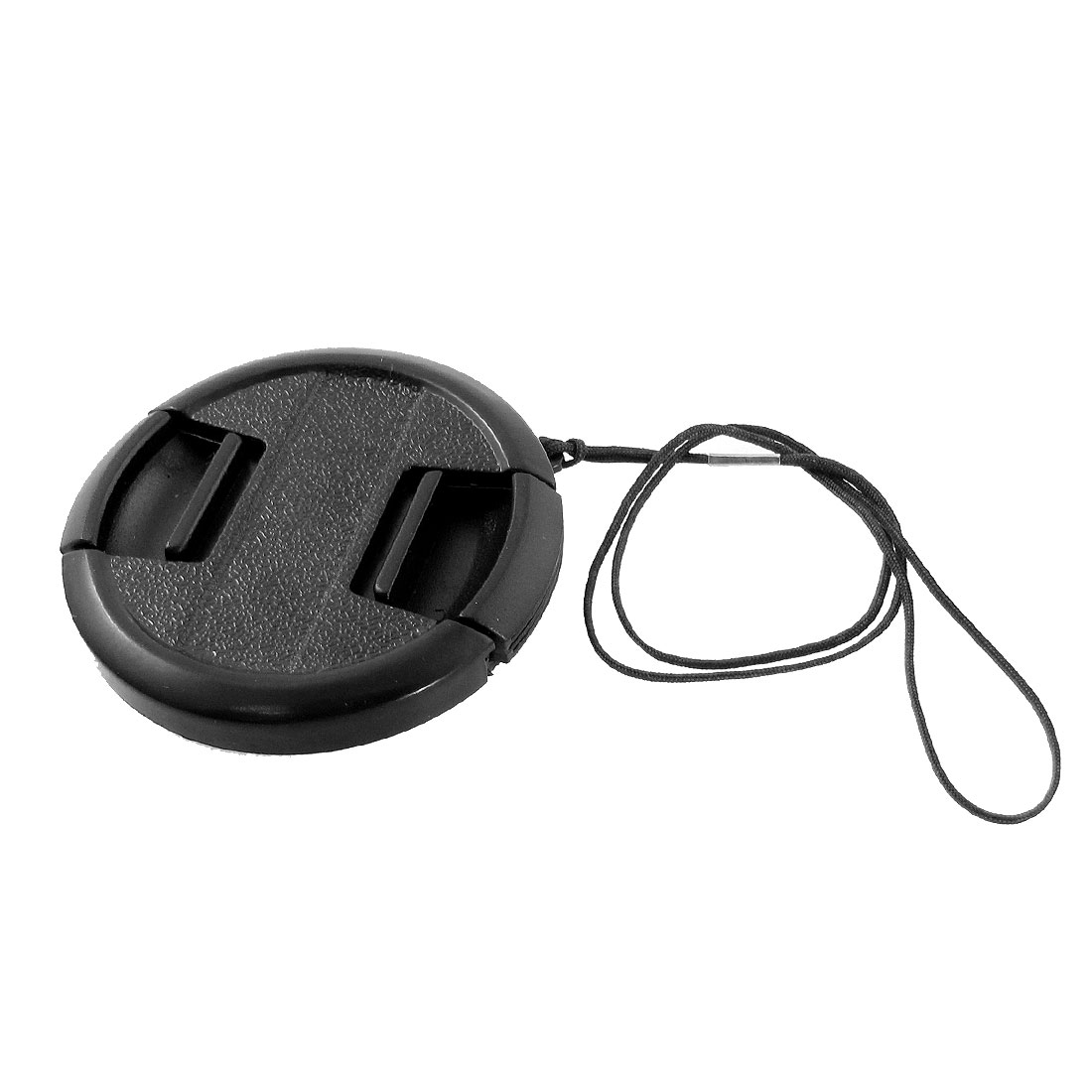 Digital Camera 52mm Center Pinch Front Lens Cap Black