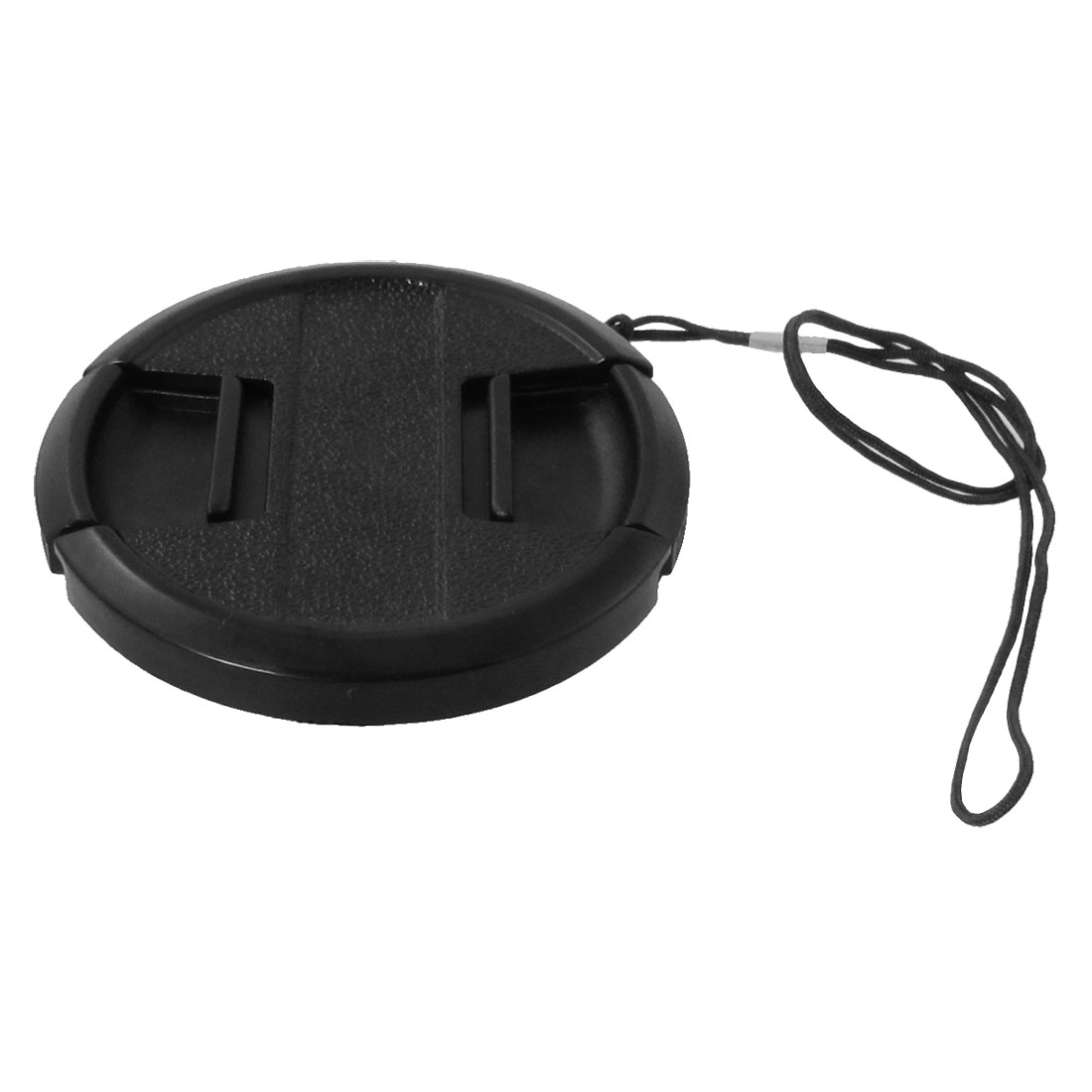 58mm Center Pinch Snap Front Lens Filter Cap Hood Cover w String