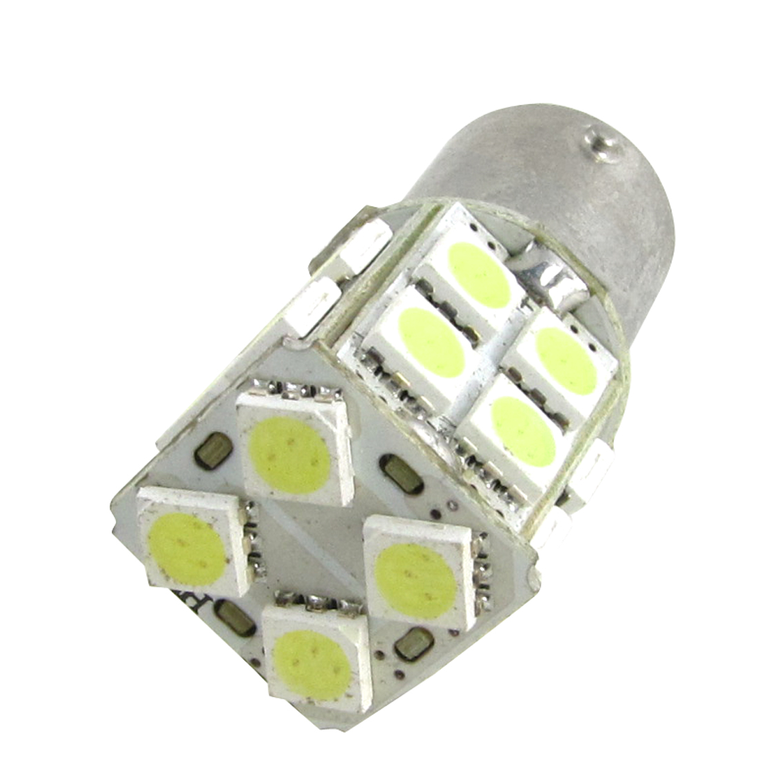 White 1157 7528 BAY15D 20 LED 5050 SMD Car Tail Packing Brake Light Bulb