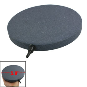 150mm x 15mm Aquarium Fish Tank Releases Bubble Gray Round Airstone