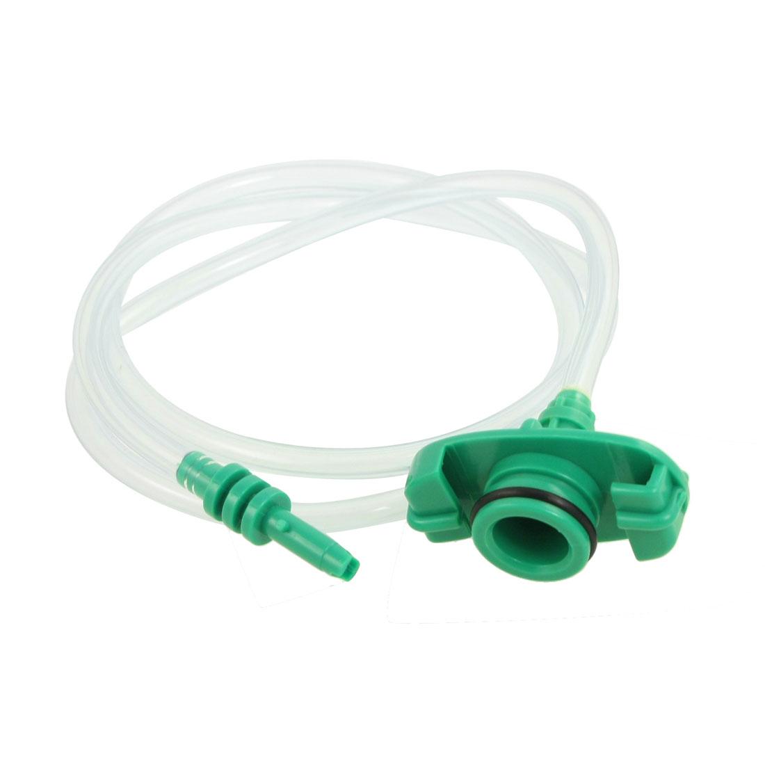 Plastic Transparent Air Tubing Glue Dispenser Syringe Adapter