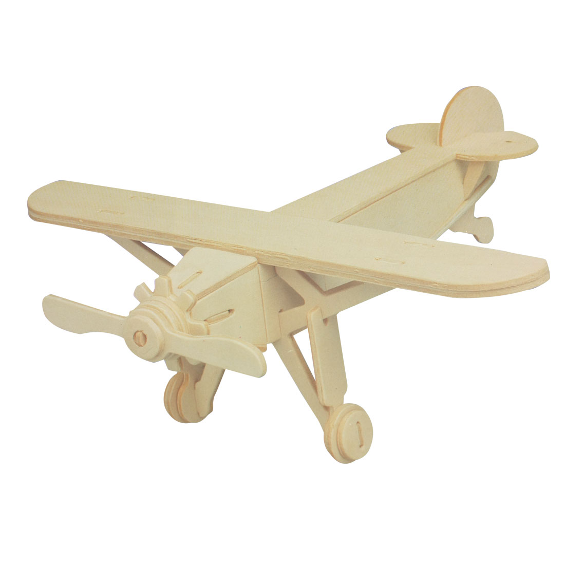 DIY Lover Wooden Assemble Louis Plane Model Construction Kit Toy Gift
