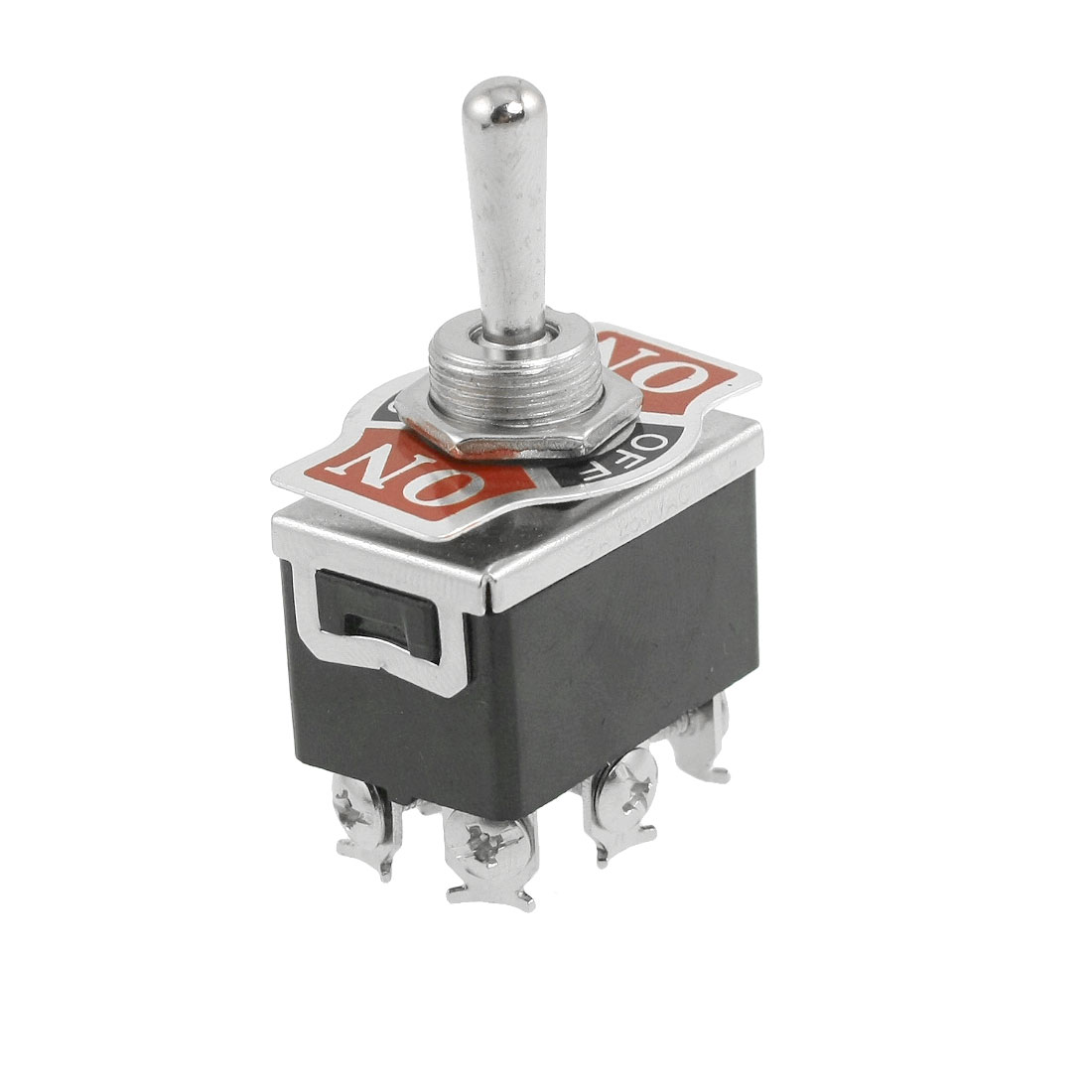 DPDT 6 Terminal ON/OFF/ON 3 Position Toggle Switch AC 250V/6A 125V/10A