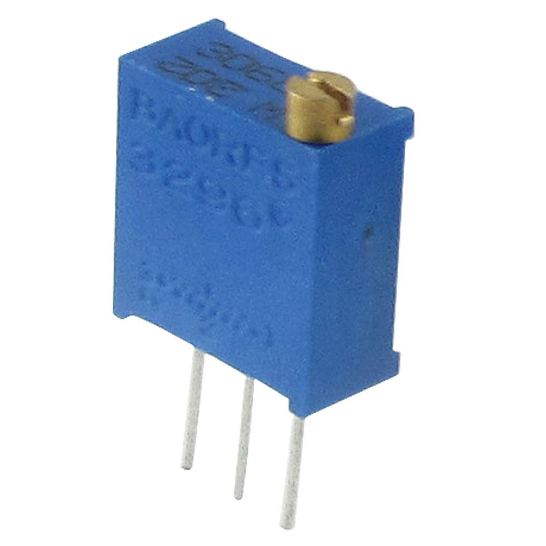 2K Ohm 3296 Square Cermet Trim Pot Trimmer Potentiometer 5 Pcs