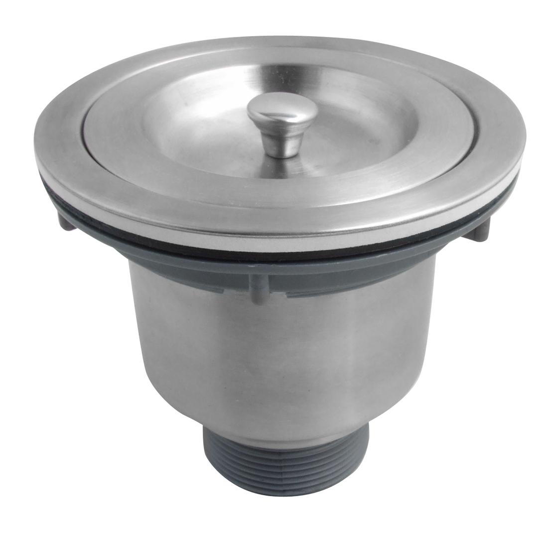 """110mm 4.3"""" Kitchen Bathroom Sink Basket Strainer w Cover"""