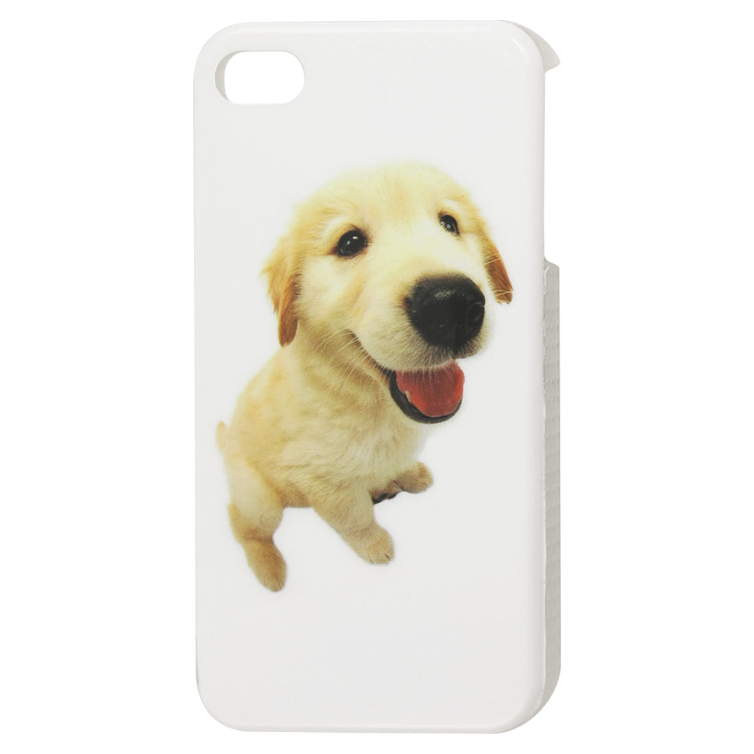 Protective Cute Dog IMD Hard Plastic Back Case for iPhone 4 4G 4S