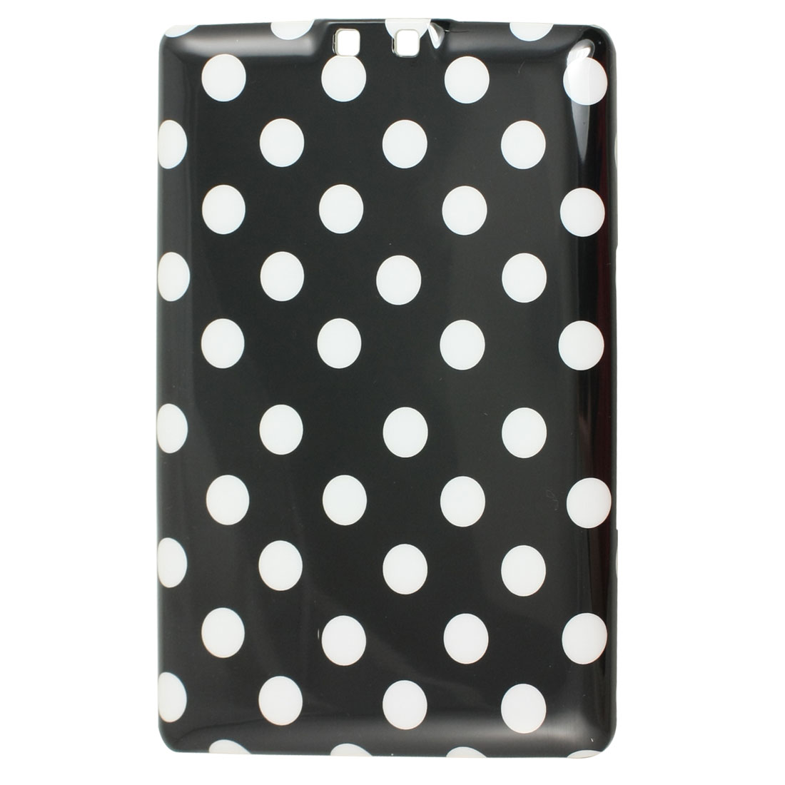 IMD White Dots Print Black Plastic Back Cover Case for Amazon Kindle 4