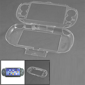 Clear Crystal Hard Plastic Case Protector for Sony PS Vita