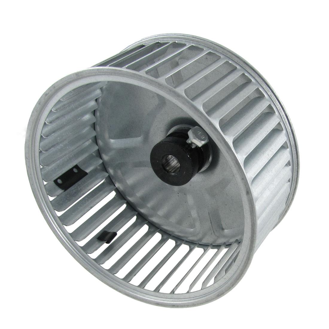 """6.8"""" Diameter Silver Tone Type B Vane Centrifugal Vane Motor Fan Impeller"""