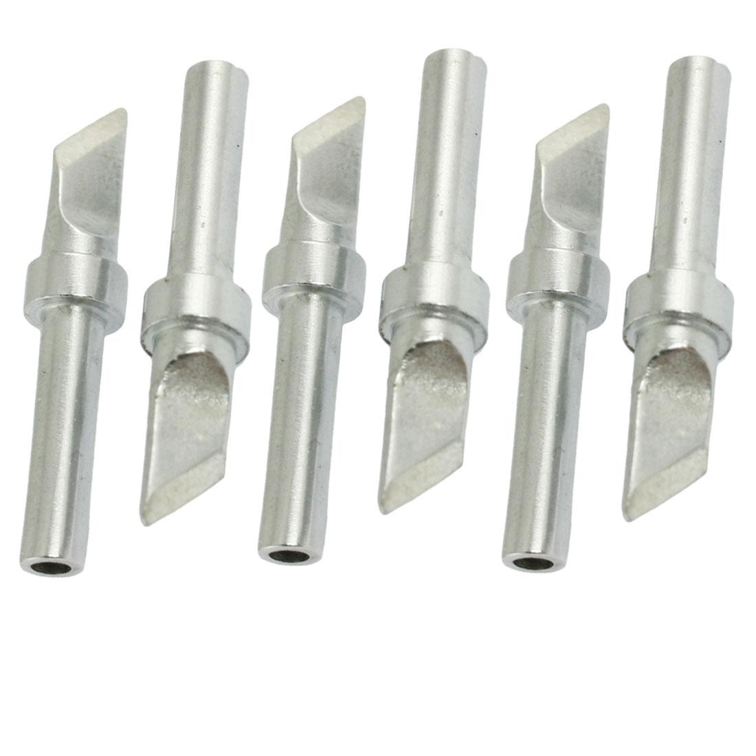 200-T-K Replaceable Bevel Welding Tool Soldering Iron Tip 5 Pcs