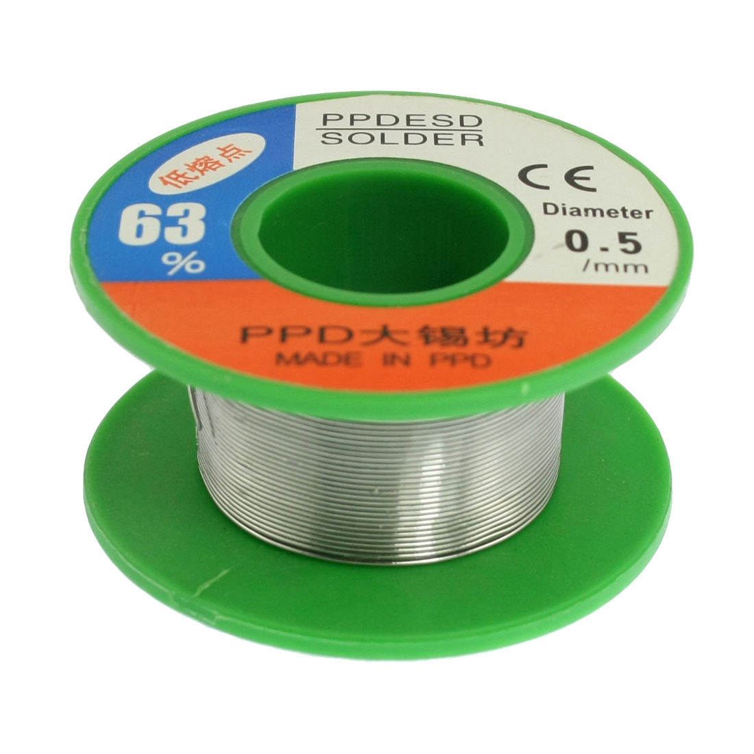 0.5mm 63/37 Rosin Core Flux Tin Lead Roll Soldering Solder Wire Reel