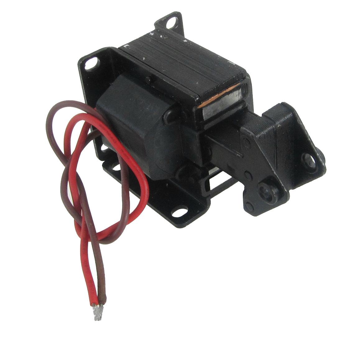 AC 220V Stroke 15mm Lift 1.0Kg Tractive Solenoid Electromagnet SA-2402