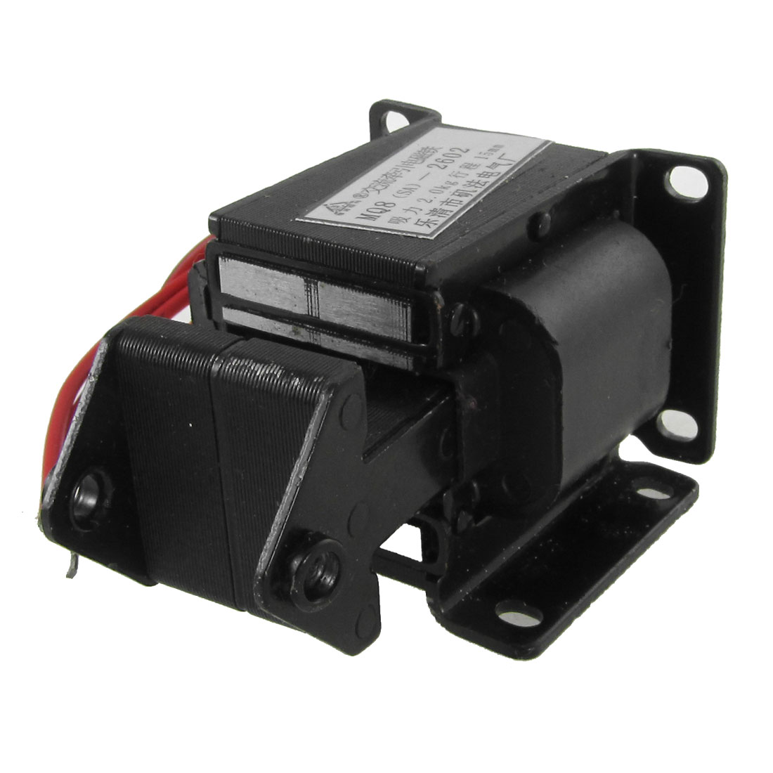 Traction Tractive Type 2kg 15mm AC 380V Solenoid Electromagnet