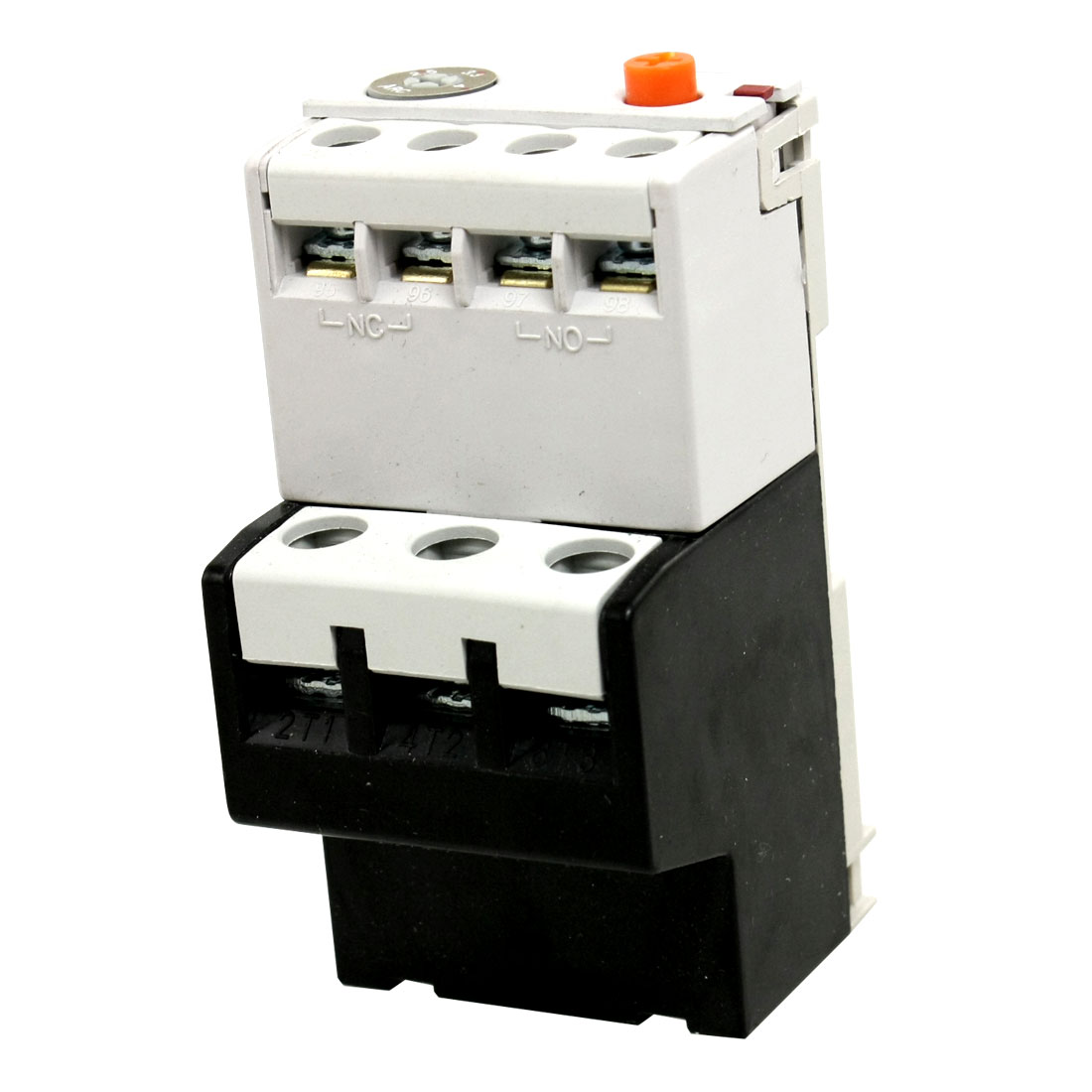 2.5-4A Setting Range Three Phase 2NO 2NC Thermal Overload Relay