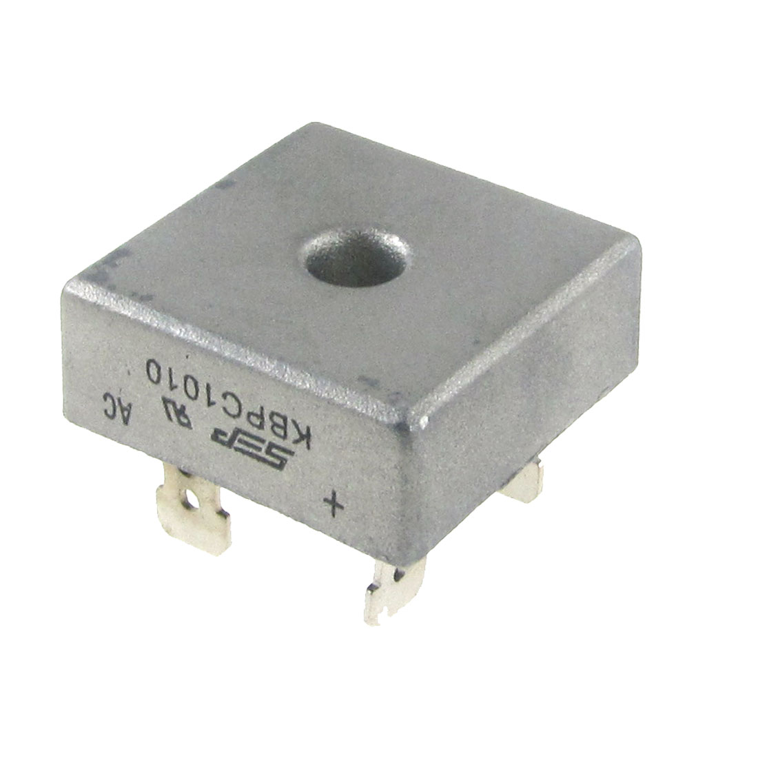 1000V 10A KBPC1010 Diode Single Phase Square Bridge Rectifier