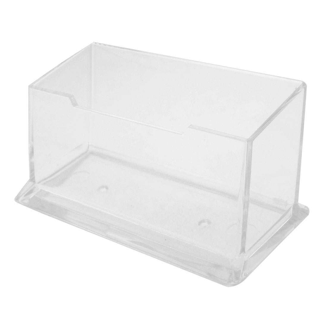 Counter Top Clear Plastic VIP Business Card Holder Display Stand Rack