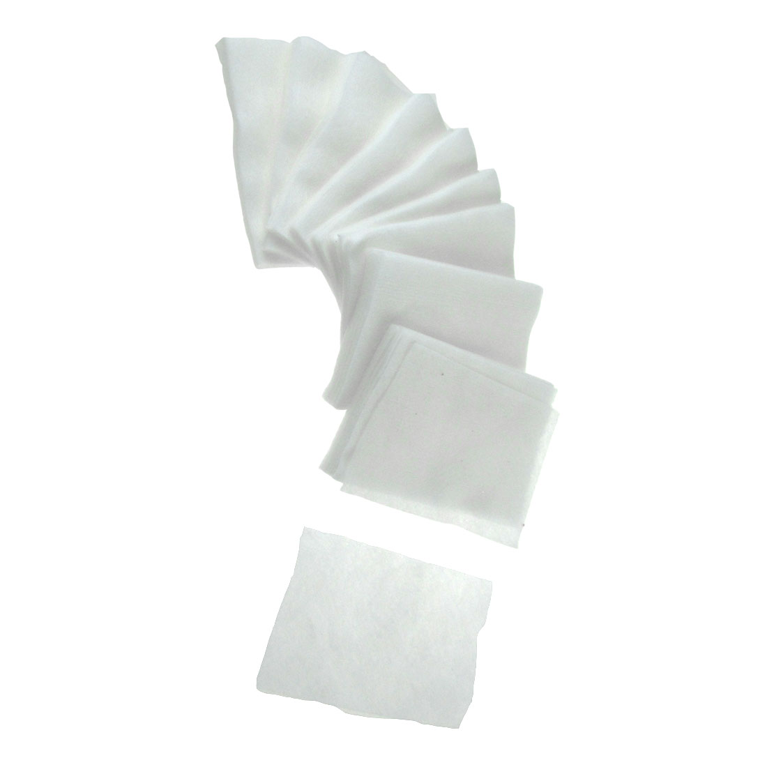 Makeup Remover White Rectangle 90 x 60mm Cosmetic Cotton Pad Facial Puff 120 Pcs