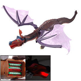 Battery Powered Walking Roaring Artificial Flapping Wings Dragon Dinosaur Toy