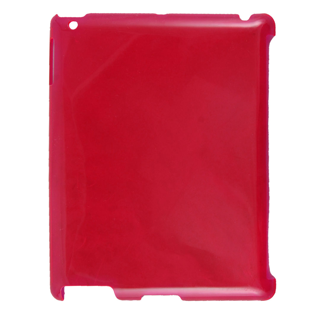 Red Plastic Back Cover Case Protector for iPad 2