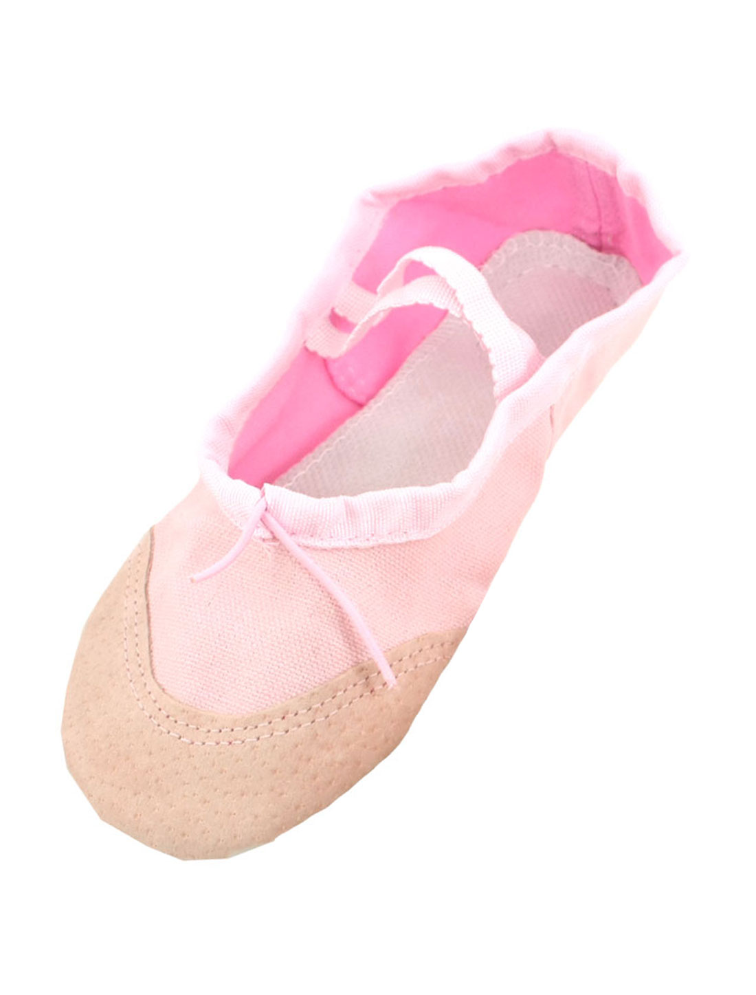 UK 12.5 Drawstring Ballet Dancing Training Flats Shoes Pink for Girls